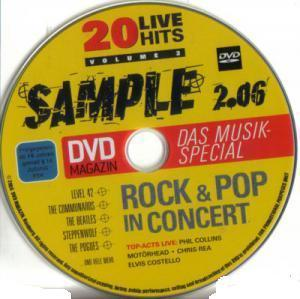 DVD Magazin / Sample - Rock & Pop In Concert Vol. 2 - Cover