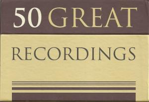 50 Great Recordings - Cover