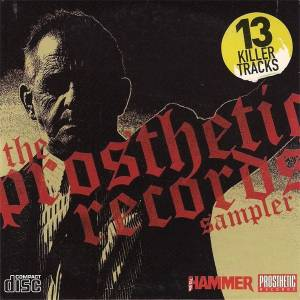 Cover - Minor Times, The: Metal Hammer 157.2 - The Prosthetic Records Sampler