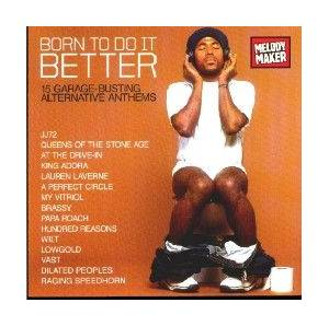 Melody Maker: Born To Do It Better - Cover