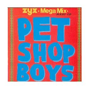 Pet Shop Boys: Mega Mix - Cover