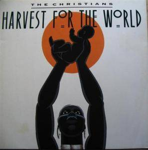 The Christians: Harvest For The World - Cover