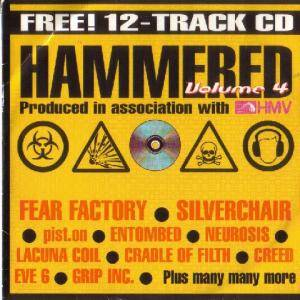 Cover - Pist.On: Hammered Volume 4 Produced In Association With Hmv