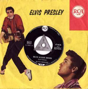 Elvis Presley: Blue Suede Shoes / Tutti Frutti - Cover