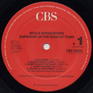 Bruce Springsteen: Darkness On The Edge Of Town (LP) - Bild 3
