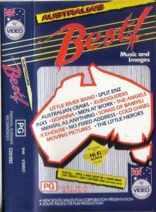 Cover - Eurogliders: Australia's Best ! » Music And Images Of Australians In The 80's