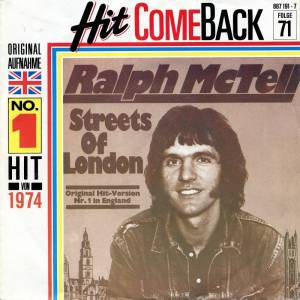 Ralph McTell: Streets Of London - Cover