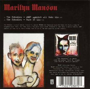 Marilyn Manson: The Nobodies (Promo-Single-CD) - Bild 2