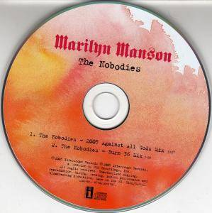 Marilyn Manson: The Nobodies (Promo-Single-CD) - Bild 3