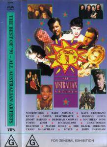 Cover - Jimmy Barnes: Best Of '91 ~ All Australian Artists, The