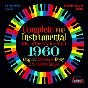 Complete Pop Instrumental Hits Of The Sixties, Vol. 1: 1960 - Cover