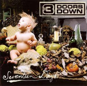 3 Doors Down: Seventeen Days - Cover