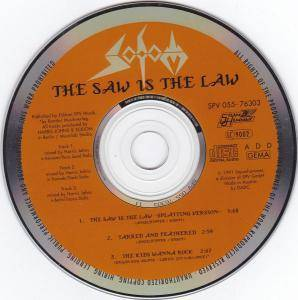 Sodom: The Saw Is The Law (Single-CD) - Bild 2