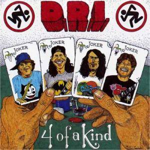 D.R.I.: 4 Of A Kind - Cover