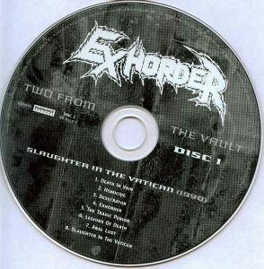 Exhorder: Slaughter In The Vatican / The Law (2-CD) - Bild 6