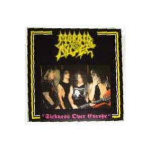 Morbid Angel: Sickness Over Europe - Cover