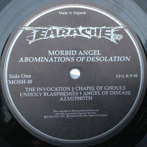 Morbid Angel: Abominations Of Desolation (LP) - Bild 3