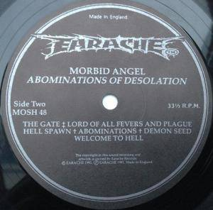 Morbid Angel: Abominations Of Desolation (LP) - Bild 4