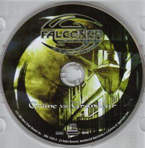 Falconer: Grime Vs. Grandeur (CD) - Bild 3