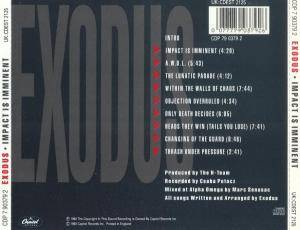 Exodus: Impact Is Imminent (CD) - Bild 2