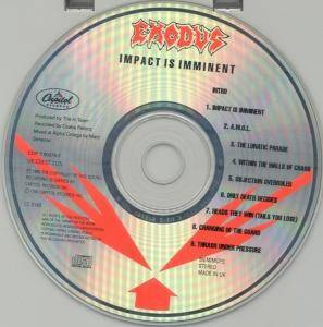 Exodus: Impact Is Imminent (CD) - Bild 3