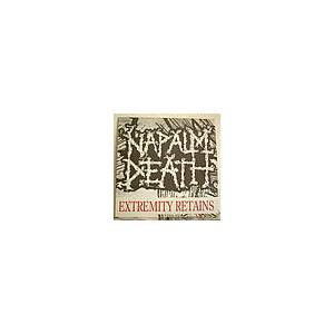 Napalm Death: Extremity Retains - Cover