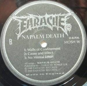 "Napalm Death: Mentally Murdered (12"") - Bild 4"