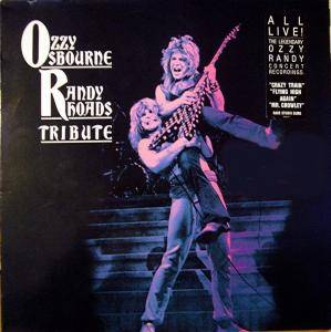 Ozzy Osbourne: Tribute To Randy Rhoads - Cover