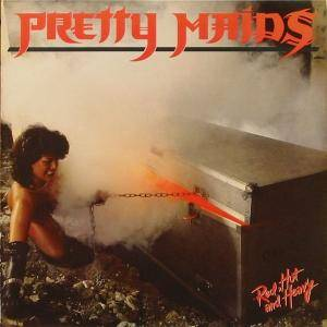 Pretty Maids: Red, Hot And Heavy - Cover