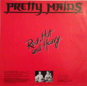 Pretty Maids: Red, Hot And Heavy (LP) - Bild 5