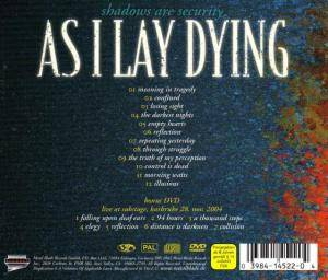 As I Lay Dying: Shadows Are Security (CD + DVD) - Bild 2