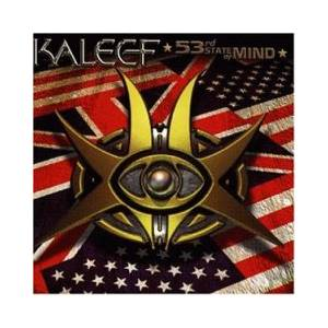 Cover - Kaleef: 53rd State Of Mind