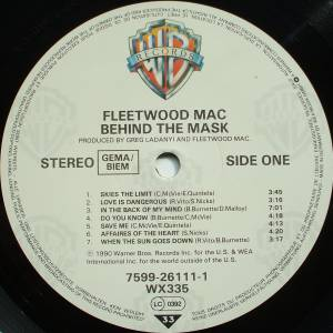 Fleetwood Mac: Behind The Mask (LP) - Bild 3