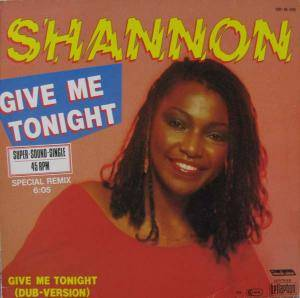 Shannon: Give Me Tonight - Cover