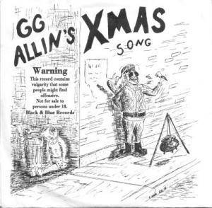 Cover - GG Allin: Xmas Record