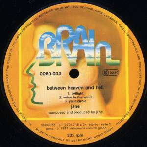 Jane: Between Heaven And Hell (LP) - Bild 6