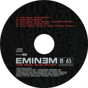 Eminem: The Real Slim Shady (Single-CD) - Bild 3