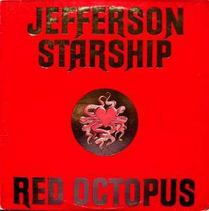 Jefferson Starship: Red Octopus - Cover