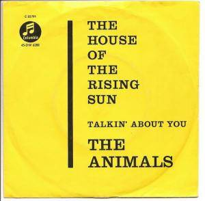 The Animals: House Of The Rising Sun, The - Cover