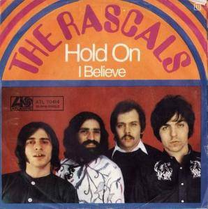 The Rascals: Hold On - Cover