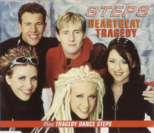 Cover - Steps: Heartbeat / Tragedy