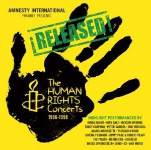 Released! The Human Rights Concerts 1986-1998 - Cover