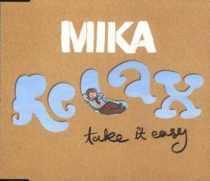 Mika: Relax, Take It Easy - Cover