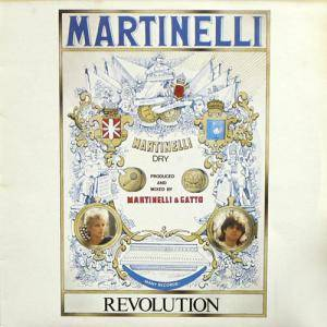 Martinelli: Revolution - Cover