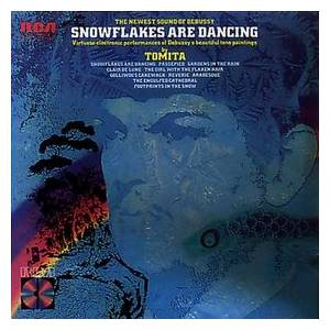 Tomita: Snowflakes Are Dancing - Cover