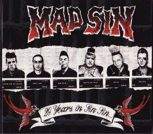 Mad Sin: 20 Years In Sin Sin - Cover