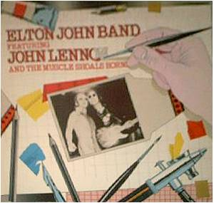 Elton John Band Feat. John Lennon And The Muscle Shoals Horns: 28th November 1974 - Cover