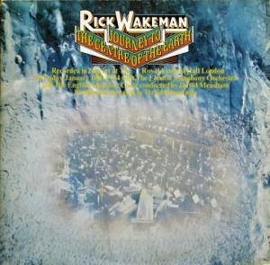 Rick Wakeman: Journey To The Centre Of The Earth - Cover