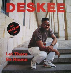 Deskee: Let There Be House - Cover