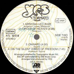 Yes: Tormato (LP) - Bild 4